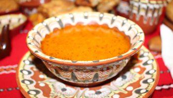 Bulgarische Bohnensuppe