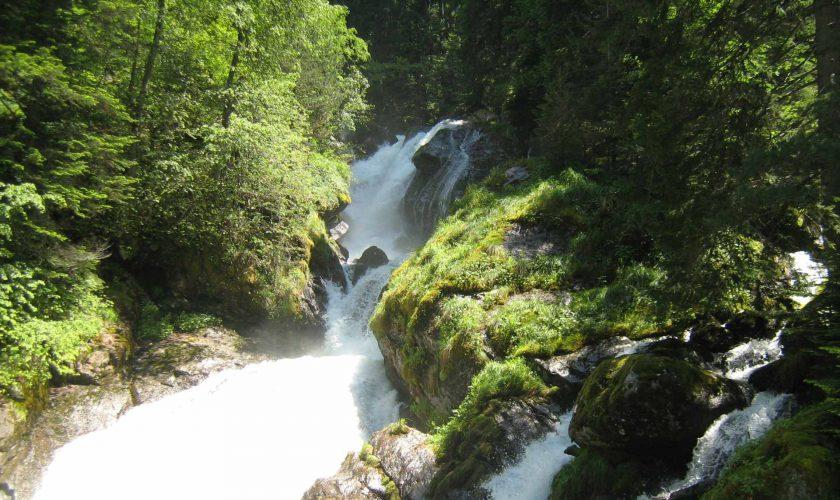 Bistriza Wasserfall
