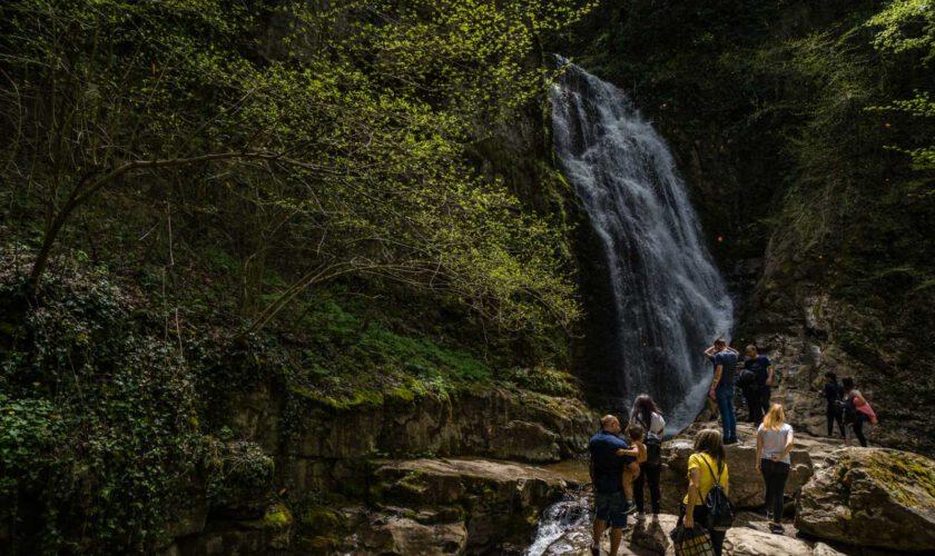 Wasserfall Skoka Teteven